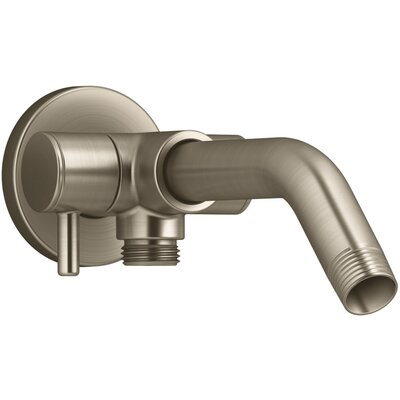 Showerarm with 3-Way Diverter Finish: Vibrant Brushed Bronze
