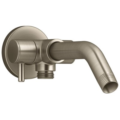 Showerarm with 2-Way Diverter Finish: Vibrant Brushed Bronze