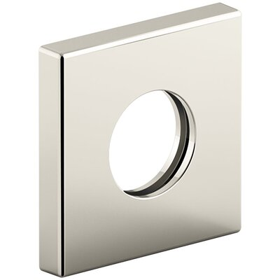 Showerarm Trim Kit, Square Finish: Satin Nickel