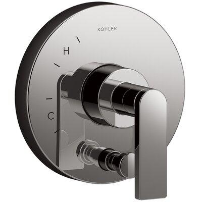 Composed� Diverter Faucet Trim Lever Handle Finish: Titanium