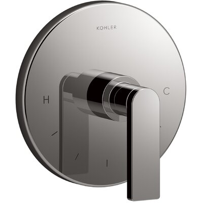Composed� Thermostatic Faucet Trim with Lever Handle Finish: Titanium