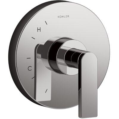 Composed� Thermostatic Faucet Trim with Lever Handle Finish: Titanium