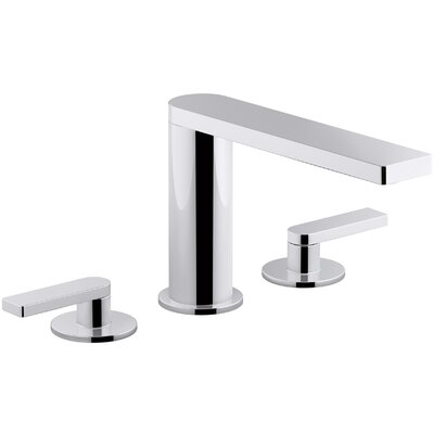 Composed� Widespread Lever Handle Bathroom Faucet Finish: Polished Chrome