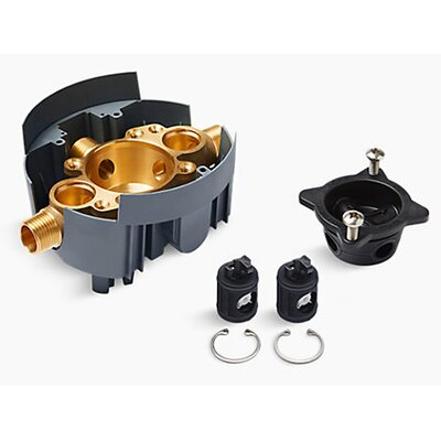 Rite-Temp Valve Body Rough-In with Service Stops and Universal Inlets