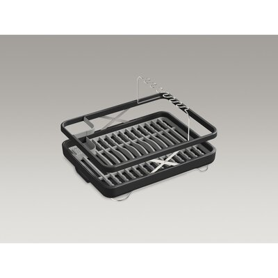 Lift Dish Rack Finish: Charcoal