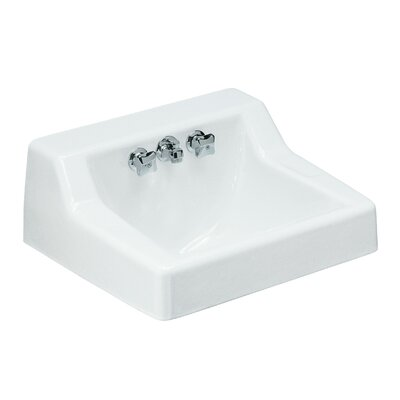 Hampton 22 Wall Mount Bathroom Sink