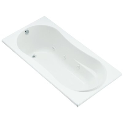 Proflex 72 x 36 Whirlpool Bathtub Finish: White