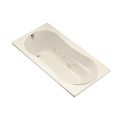 Proflex 72 x 36 Whirlpool Bathtub Finish: Almond