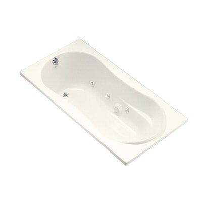 Proflex 72 x 36 Whirlpool Bathtub Finish: Biscuit