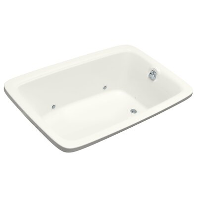 Bancroft 66 x 42 Air Bathtub Finish: White