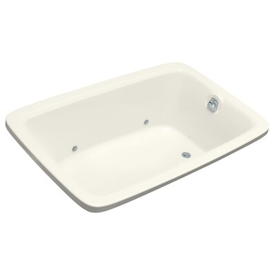 Bancroft 66 x 42 Air Bathtub Finish: Biscuit