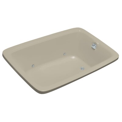 Bancroft 66 x 42 Air Bathtub Finish: Sandbar