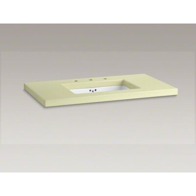 Kathryn Enameled Lavastone Tabletop Drilled Centers Cut K Under Mount Bathroom Sink Product Photo 6300