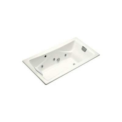 Tea for Two 72 x 36 Whirlpool Bathtub Finish: White, Installation Type: Alcove / Tile In