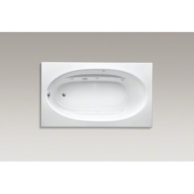 Windward 72 x 42 Whirpool Bathtub Finish: White