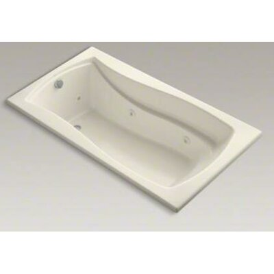 Mariposa 66 x 36 Whirlpool Bathtub Finish: Almond