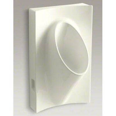 Steward Waterless 15 Wide x 29-5/8 High x 15-5/8 Deep Wall-Mount Urinal Finish: Biscuit