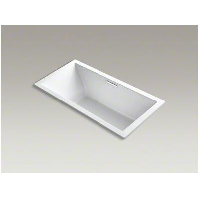 Underscore Vibracoustic 72 x 36 Soaking Bathtub Finish: White
