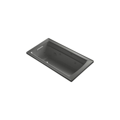 Archer 60 x 32 Drop-in Whirlpool Finish: Thunder Grey