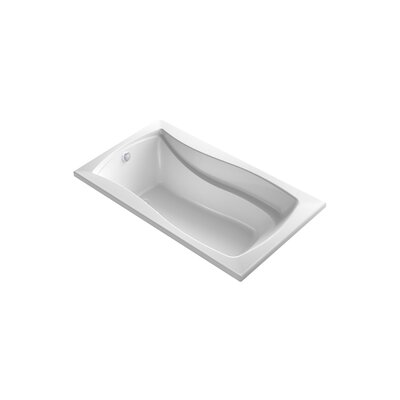 Mariposa 66 x 35.88 Drop-in BubbleMassage Air Bathtub Finish: White