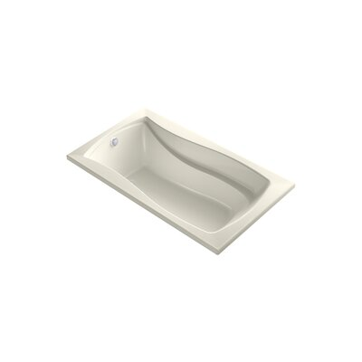 Mariposa 66 x 35.88 Drop-in BubbleMassage Air Bathtub Finish: Biscuit