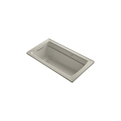 Archer 60 x 32 BubbleMassage Drop-in Bathtub Finish: Sandbar
