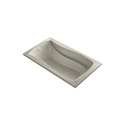 Mariposa 66 x 35.88 Drop-in BubbleMassage Air Bathtub Finish: Sandbar
