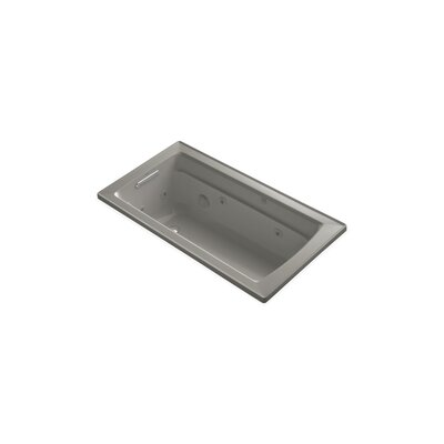Archer 60 x 32 Drop-in Whirlpool Finish: Cashmere