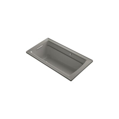 Archer 60 x 32 BubbleMassage Drop-in Bathtub Finish: Cashmere