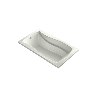 Mariposa 66 x 35.88 Drop-in BubbleMassage Air Bathtub Finish: Dune