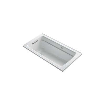Archer 60 x 32 BubbleMassage Drop-in Bathtub Finish: Dune