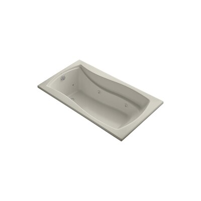 Mariposa 66 x 35.88 Drop-in Whirlpool Finish: Sandbar
