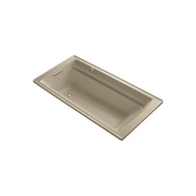 Archer 72 x 36 Drop-in Bubble massage Air Bathtub with Reversible Drain and Bask Heated Surface Finish: Mexican Sand