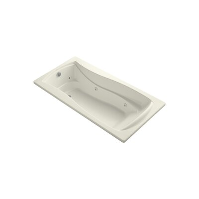 Mariposa 72 x 36 Whirpool Bathtub Finish: Biscuit