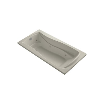 Mariposa 72 x 36 Whirpool Bathtub Finish: Sandbar