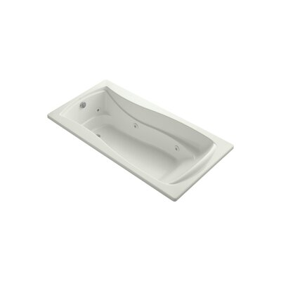 Mariposa 72 x 36 Whirpool Bathtub Finish: Dune