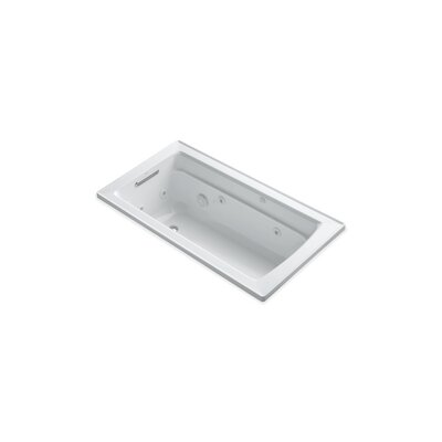 Archer 60 x 32 Drop-in Whirlpool Finish: White