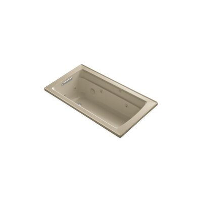 Archer 60 x 32 Drop-in Whirlpool Finish: Mexican Sand
