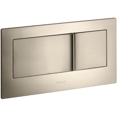 Flush Actuator Plate In-Wall Tank and Carrier System Finish: Vibrant Brushed Bronze