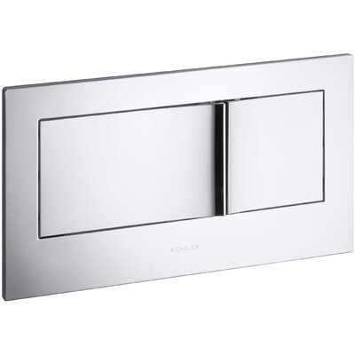 Flush Actuator Plate In-Wall Tank and Carrier System Finish: Polished Chrome
