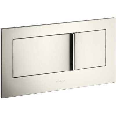 Flush Actuator Plate In-Wall Tank and Carrier System Finish: Vibrant Polished Nickel