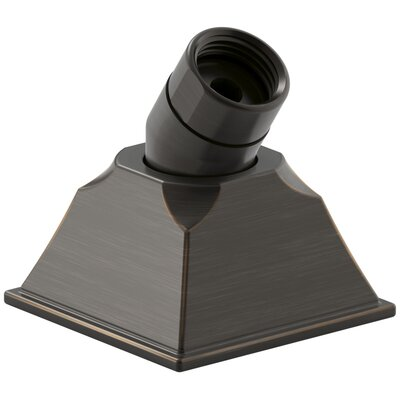 Memoirs Deck-Mount Handshower Holder with Hoses Finish: Oil-Rubbed Bronze