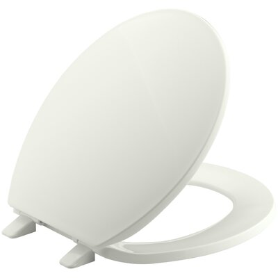 Brevia with Quick-Release Hinges Round-Front Toilet Seat Finish: Dune