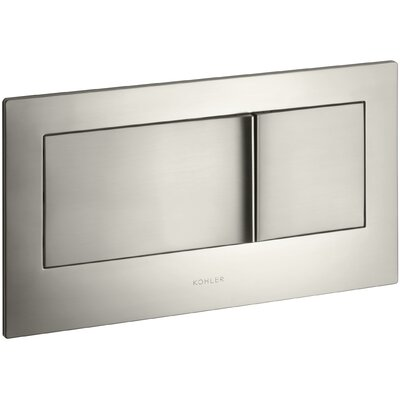 Flush Actuator Plate In-Wall Tank and Carrier System Finish: Vibrant Brushed Nickel