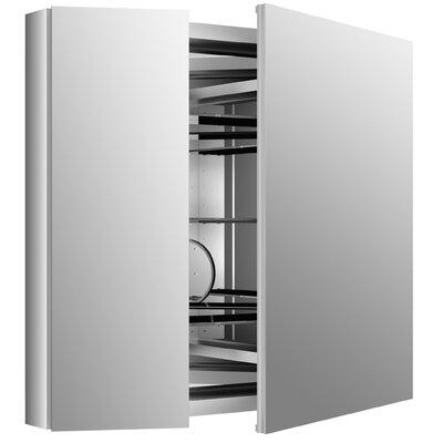 Verdera 34 W x 30 H Aluminum Medicine Cabinet