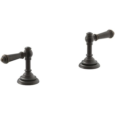Artifacts Bathroom Sink Lever Handles Handle Finish: Oil Rubbed Bronze