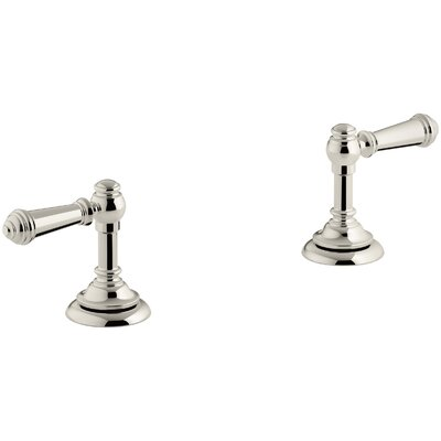 Artifacts Bathroom Sink Lever Handles Handle Finish: Vibrant Polished Nickel