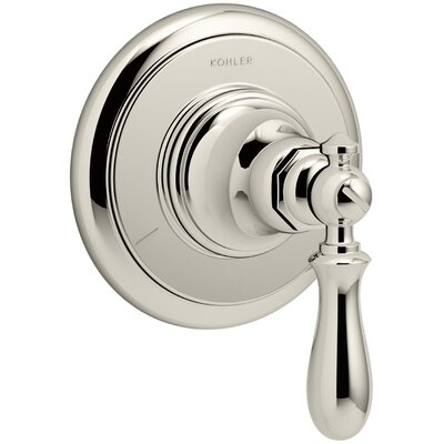 Artifacts Transfer Valve Trim with Swing Lever Handle Finish: Vibrant Polished Nickel