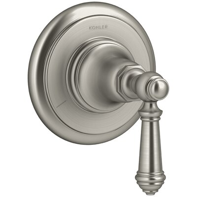 Artifacts Transfer Valve Trim with Lever Handle Finish: Vibrant Brushed Nickel