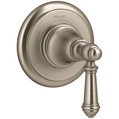 Artifacts Transfer Valve Trim with Lever Handle Finish: Vibrant Brushed Bronze